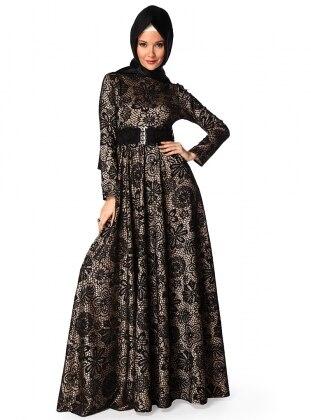 Black - Dress - Minel Ask 10486