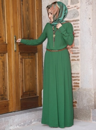 Kemerli Tulum - Açık Yeşil Pınar Şems