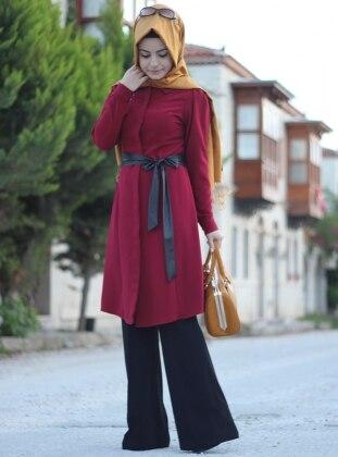 Düz Paça Pantolon - Lacivert Pınar Şems