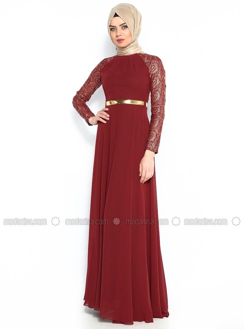 belt evening dress muslim evening dresses