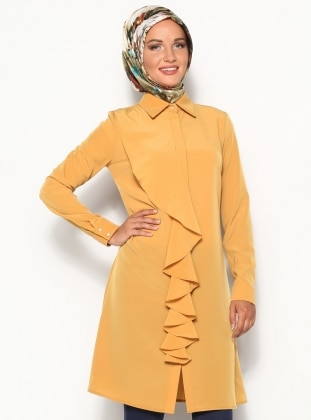 Meysa Tunic - Yellow - Minel Ask 123278