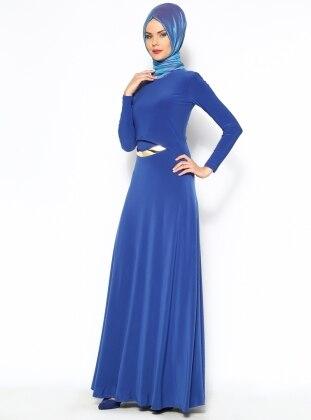 Dress - Royal Blue - Mileny 124472
