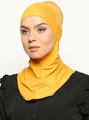 Clima Fit Hijab Bone- Gold Ecardin