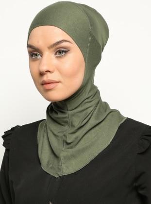 Clima Fit Hijab Bone- Haki - Ecardin