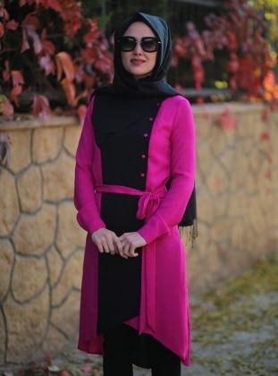 Noor Tunic - Black - Minel Ask 165749