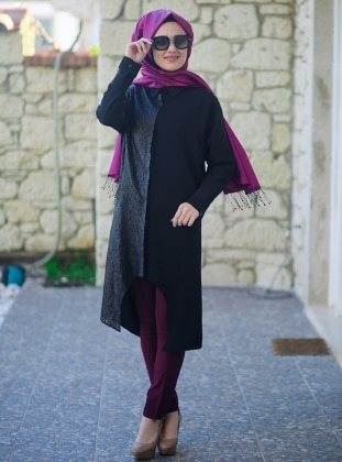 Elite Tunic - Black - Minel Ask 166073