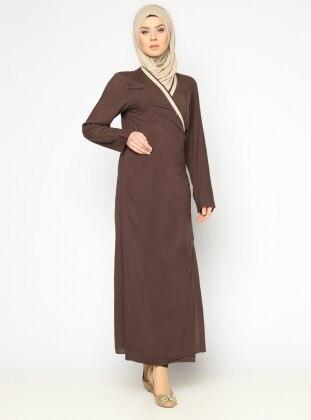 Namaz Elbisesi - Kahve - Hal-i Niyaz