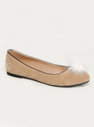 Nişantaşı Love Shoes Ayakkabı - Bej