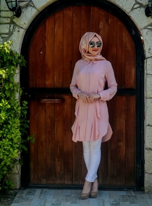 Star Tunic - Powder - Minel Ask 203592