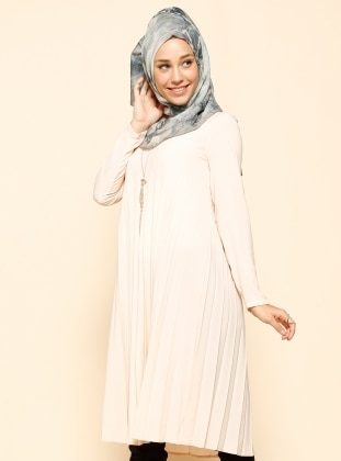 Pleated Tunic - Powder - Puane 215504