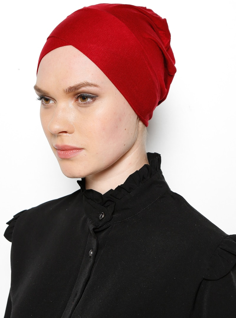 XL Bonnet - Maroon - Ecardin, Claret red
