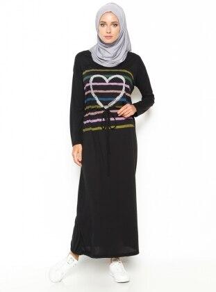 Basic Dress - Black - Dadali 219007