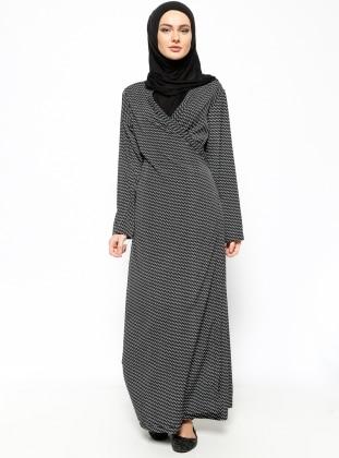 Namaz Elbisesi - Siyah - Hal-i Niyaz
