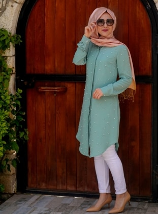 Tunic - Mint - Minel Ask 221630