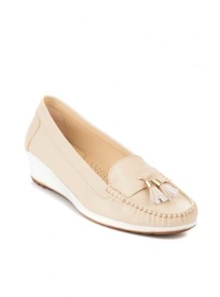 Ayakkabı - Bej - BAMBİ AYAKKABI