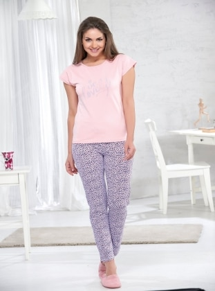 Pijama - Pembe - Sevim