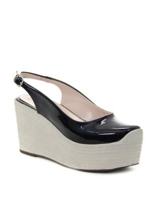 Shoe - Black - Ayakkabi Havuzu