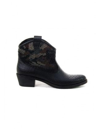 Boots - Black - Ayakkabı Havuzu