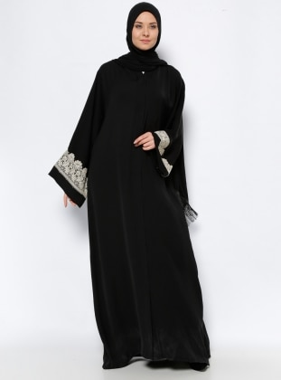 Abaya - Black - ModaNaz 237342