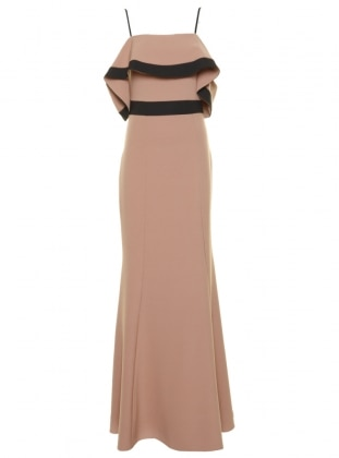 Muslim Evening Dress - Powder - Appleline Abiye