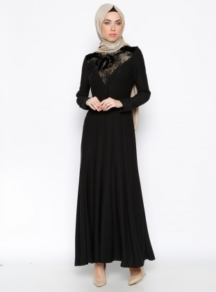 Dress - Black - Esswaap 243236