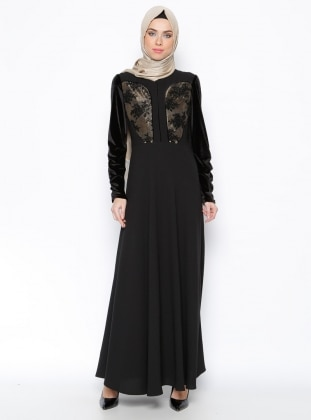 Dress - Black - Esswaap 243238