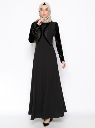 Dress - Black - Esswaap 243239