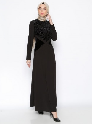 Dress - Black - Esswaap 243237