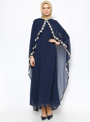 Dress - Navy Blue - Mileny 251611