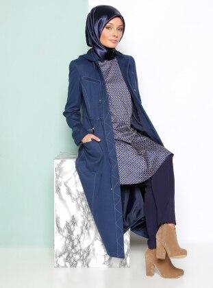 Topcoat - Blue - Armine