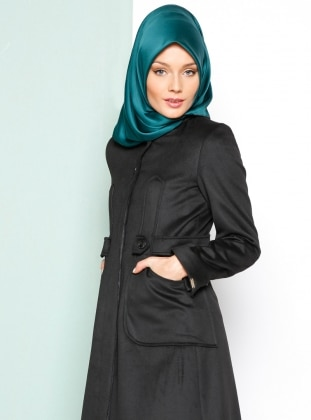 Coat - Black - Armine