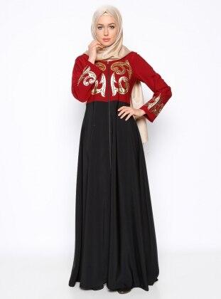 Abaya - Black - Ginezza