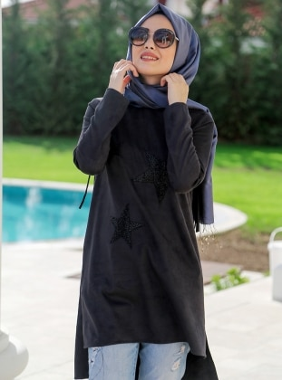 Tunic - Black - Minel Ask 261428