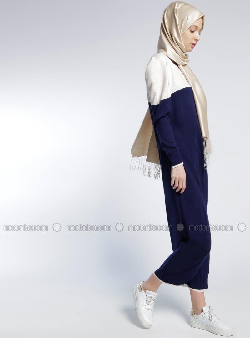 triko-elbise-lacivert-benin