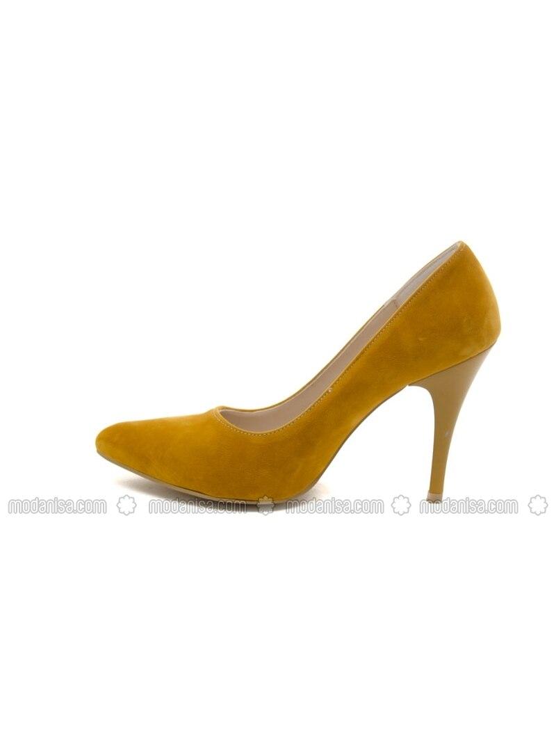 yellow high heel shoes ayakkabı havuzu by ayakkabı