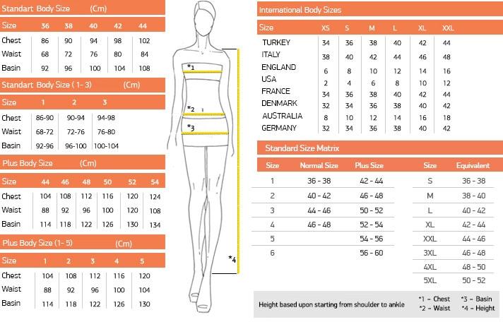 42ceab0572588 Modanisa Size Guide.