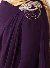 Evening Dress - Plum