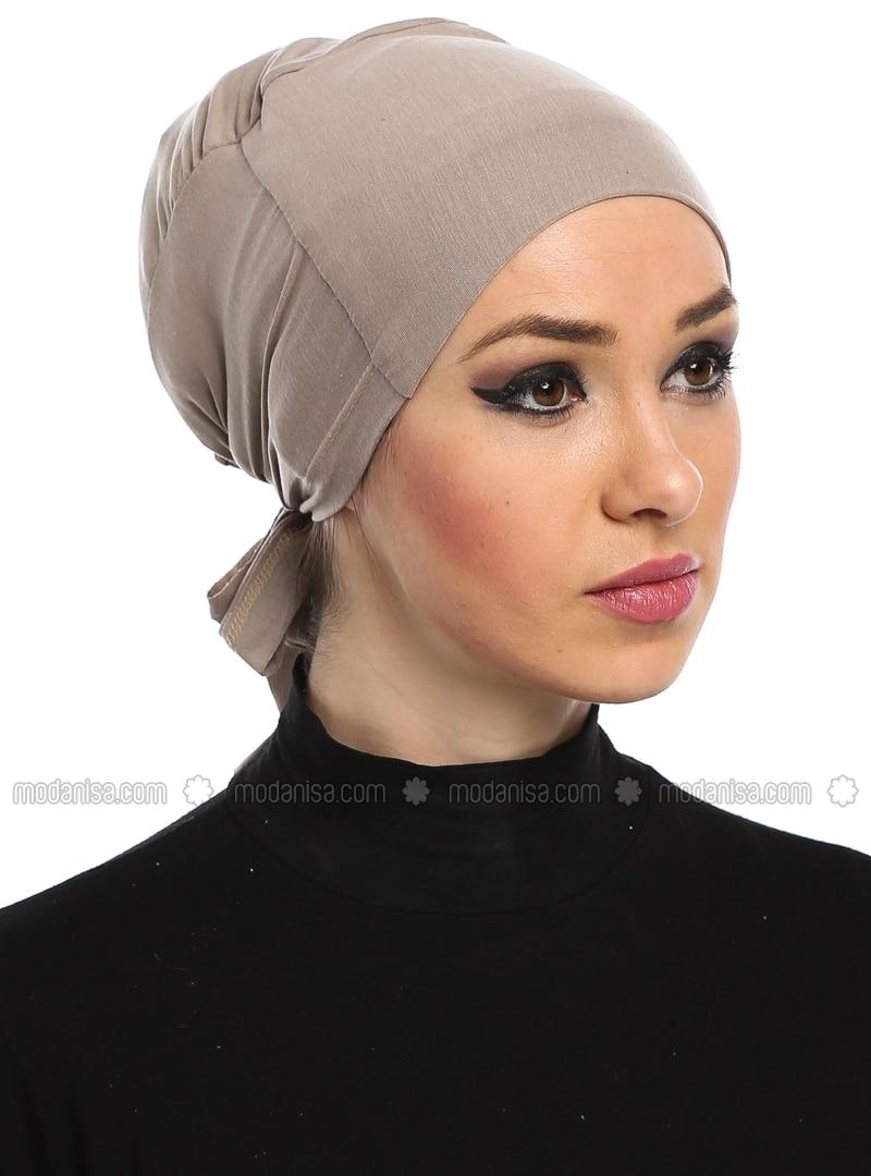 Cotton Bonnet - Mink