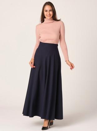 Flared skirt - Navy Blue