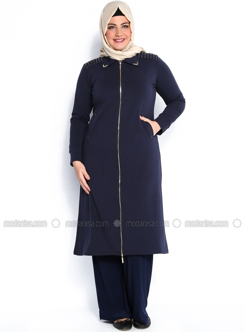 Navy Blue - Tracksuit Top