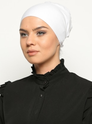 Lace up - White - Bonnet