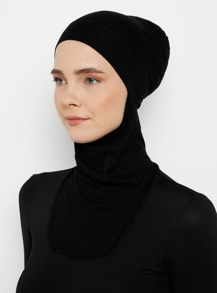 Simple - Black - Bonnet - Ecardin