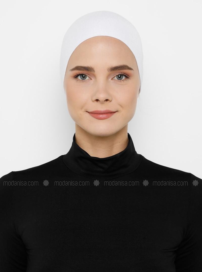 Lace up - White - Bonnet