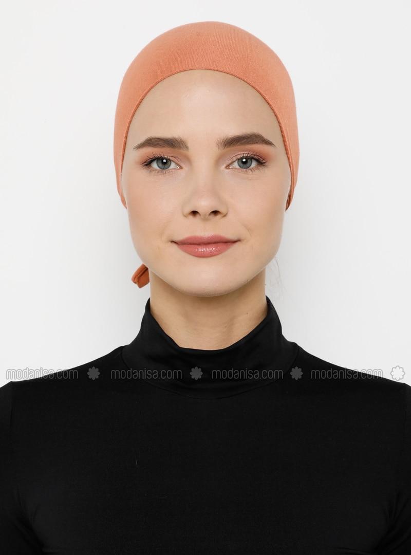 Cotton - Lace up - Salmon - Bonnet