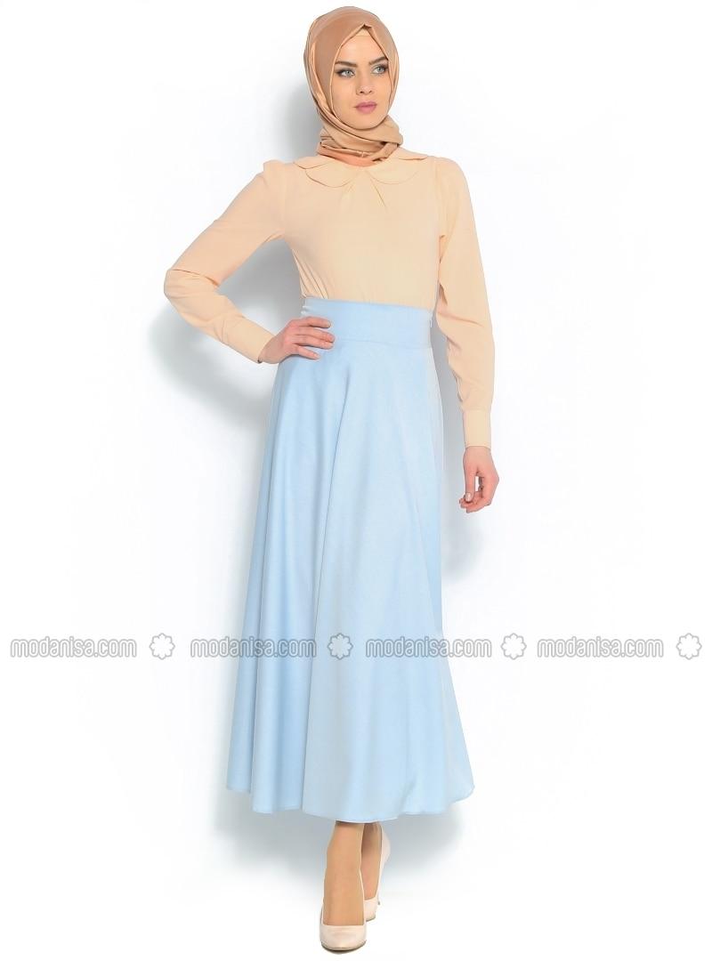 Circular skirt - Blue