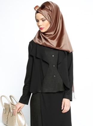 Şal Yaka Ceket - Siyah Mood
