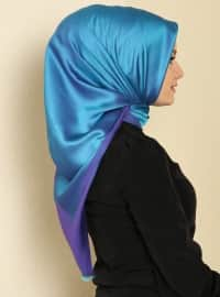 Plain Color Scarf - Purple - Gulsoy