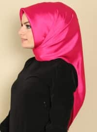 Plain Color Scarf - Pink - Gulsoy