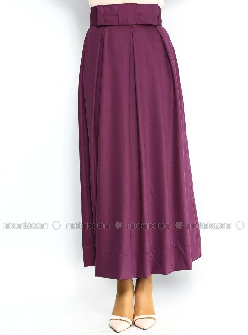 purple pleated skirt dress ala