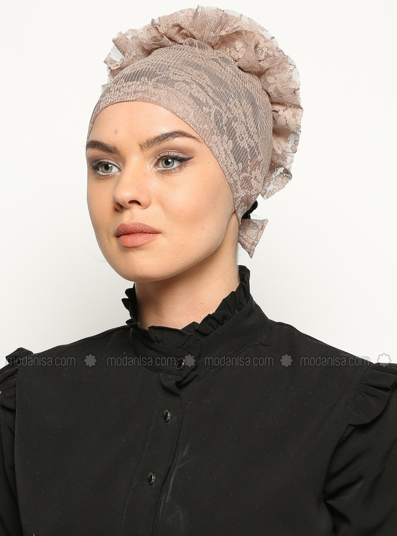 Lace Cap - Mink